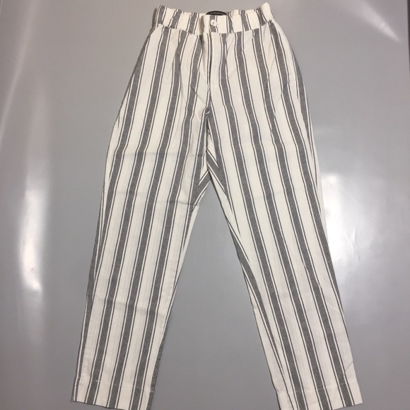 Brandy Melville striped loose pants